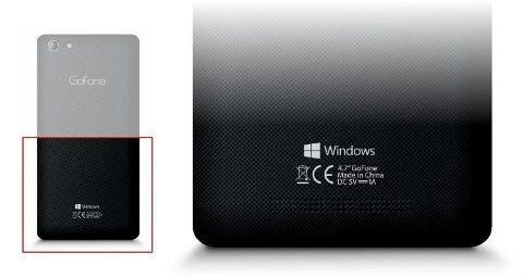 Imagem do 1º smartphone com a marca 'Windows'